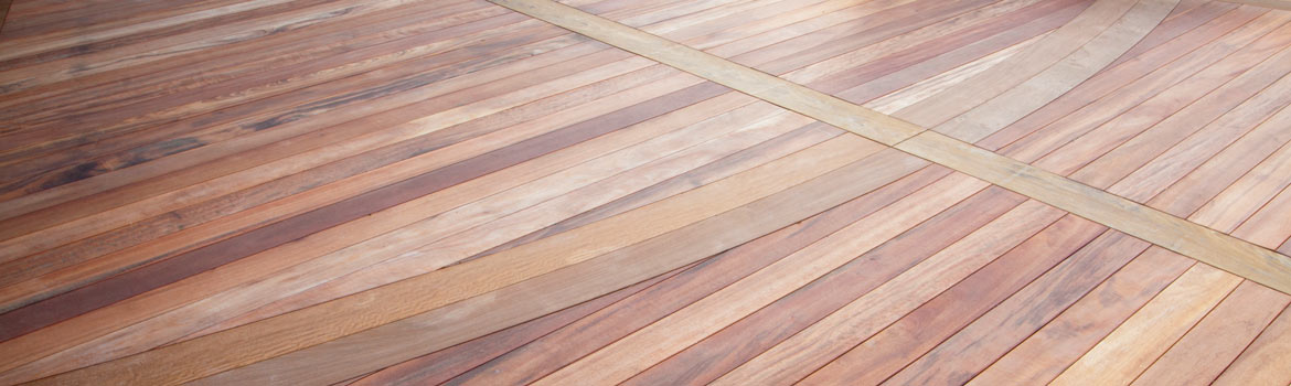 Hardwood deck built with Ipe Clip® Extreme<sup>®</sup> fasteners