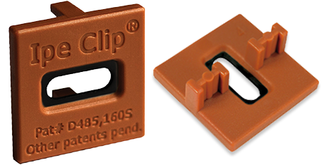 Ipe Clip® Extreme4™ Hardwood Brown