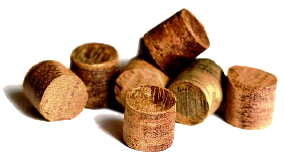 Smooth Hardwood Plugs