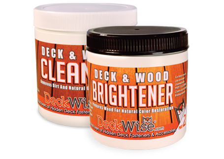 DeckWise® Hardwood Deck Cleaner & Brightener