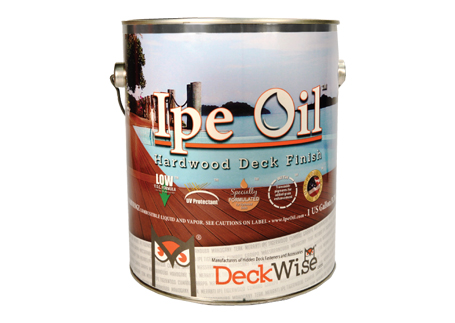 Ipe Oil<sup>®</sup> hardwood deck finish