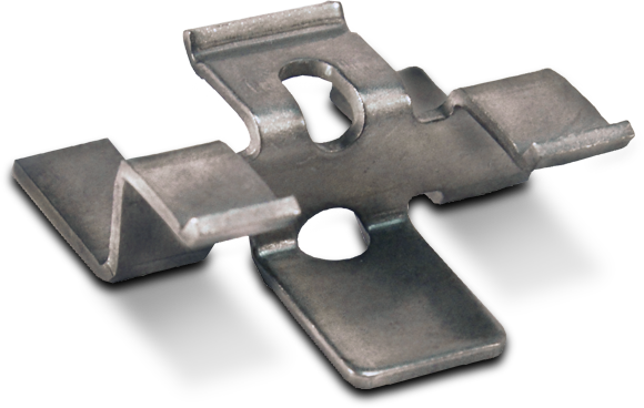 Hidden Siding Fastener crafted from solid stainless steel